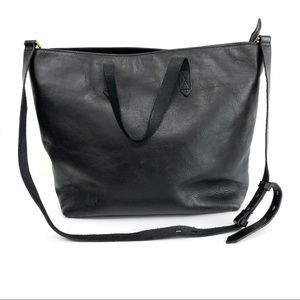 MADEWELL The Zip-Top Transport Carryall Black